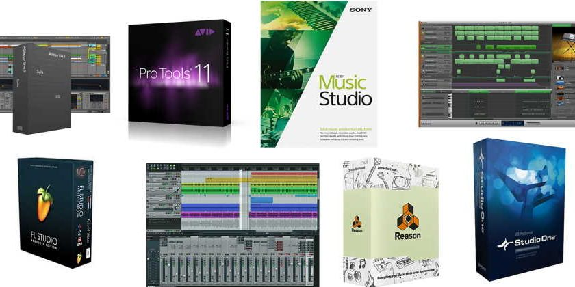 What software is used to make songs?